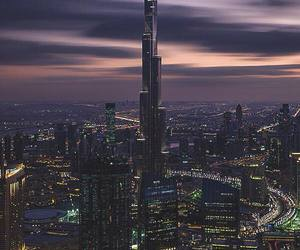 Dubai, city, and light image