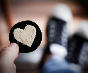 oreo, heart, and love image