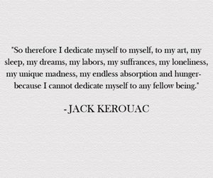 quotes, Jack Kerouac, and life image