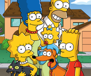 family, photo, and simpsons image