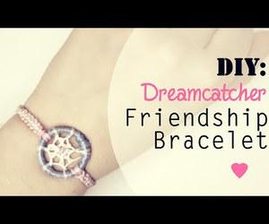 bracelet, diy, and dreamcatcher image