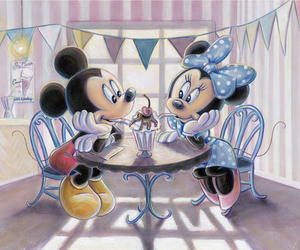 date, disney, and mickey mouse image