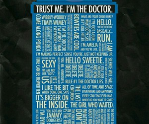 doctor who, tardis, and quote image
