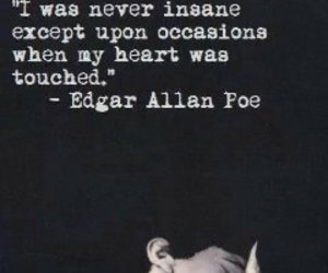 edgar allan poe, except, and heart image