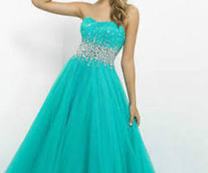 blue, dress, and poof image