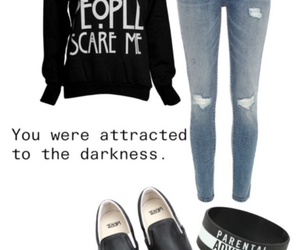 Darkness, grunge, and american horror story image