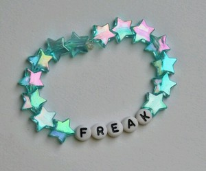 freak, grunge, and bracelet image