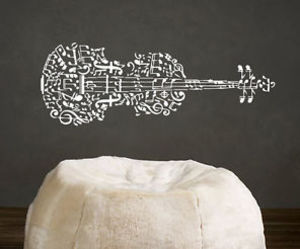 murals, music, and musical notes image