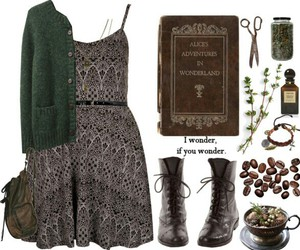 book, clothes, and grunge image