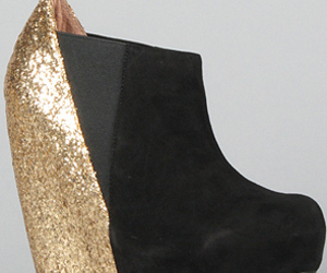 black, glitter, and gold image