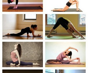 exercise, yoga, and work out image