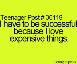 money and teenagerposts image