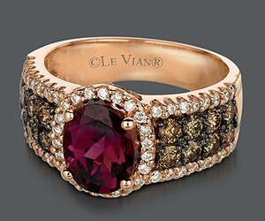 jewelry, ring, and ruby image