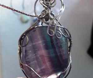 handmade jewelry, silver necklace, and gemstone necklace image