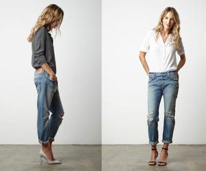boyfriend, fashion, and jeans image
