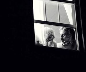 blue valentine, love, and black and white image