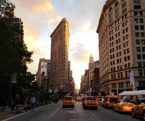 big city, building, and lights image