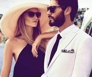 couple, style, and classy image