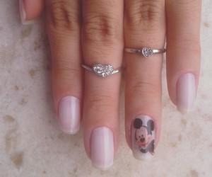 hand, mickey, and nail image