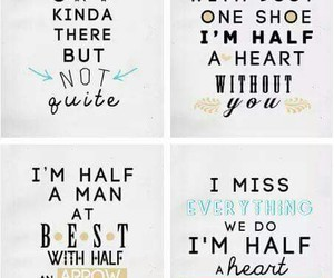half a heart, one direction, and midnight memories image