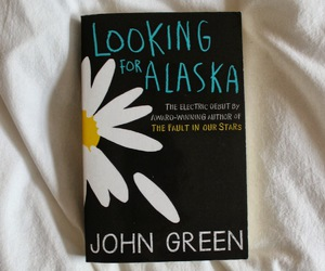 book, looking for alaska, and john green image