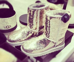 ugg, uggs, and sparkle image