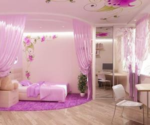 room and purple image