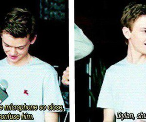 dylan o'brien, thomas sangster, and maze runner image