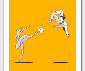 ballet, power, and famele image