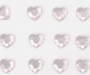 pink, hearts, and pale image