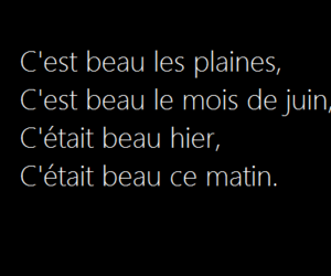 french, life, and song image
