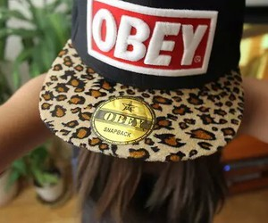 cap, leopard, and swag image
