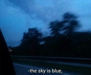 blue, grunge, and sky image
