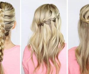blonde, braid, and diferent image