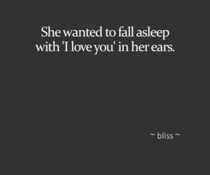 quote, love, and sleep image