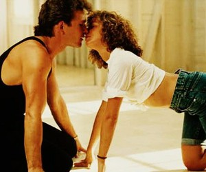 couple, dance, and dirty dancing image