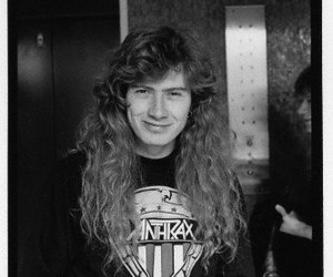 dave mustaine, megadeth, and anthrax image