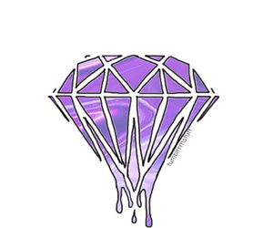diamond, overlay, and purple image