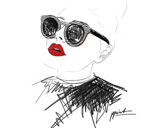 art, makeup, and draw image