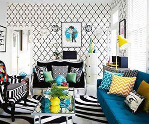 architecture, black, and interior image