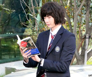 korean actor, lee jong suk, and kactor image