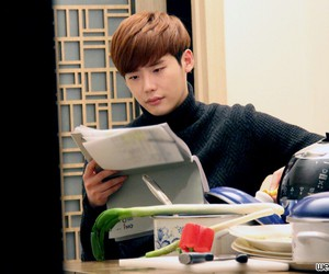 korean actor, 이종석, and lee jong suk image