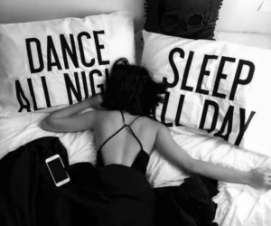 sleep, all night, and dance image