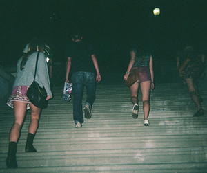 grunge, friends, and dark image