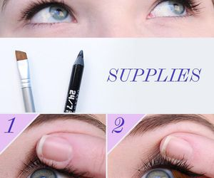 beauty, tips, and eyeliner image