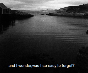 sad, forget, and wonder image