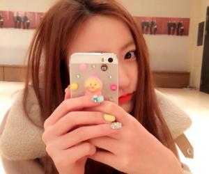 kpop, haeryung, and phone image