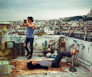 boy, photography, and city image