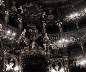 architecture, dark, and baroque image