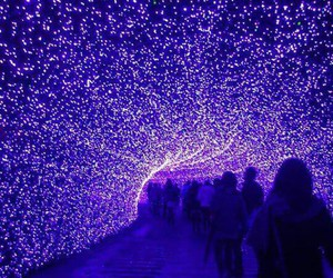 purple tunnel led lights! image